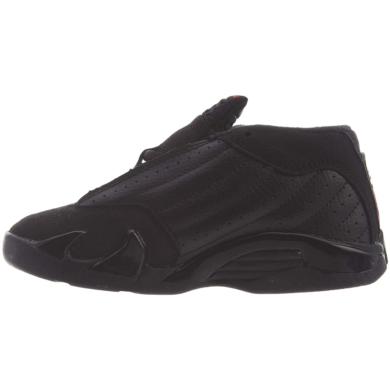 new arrival e91f6 0e8ab Amazon.com   Nike Jordan 14 Retro TD Kids Black Red Silver 312093-003  (Size  8C)   Sneakers