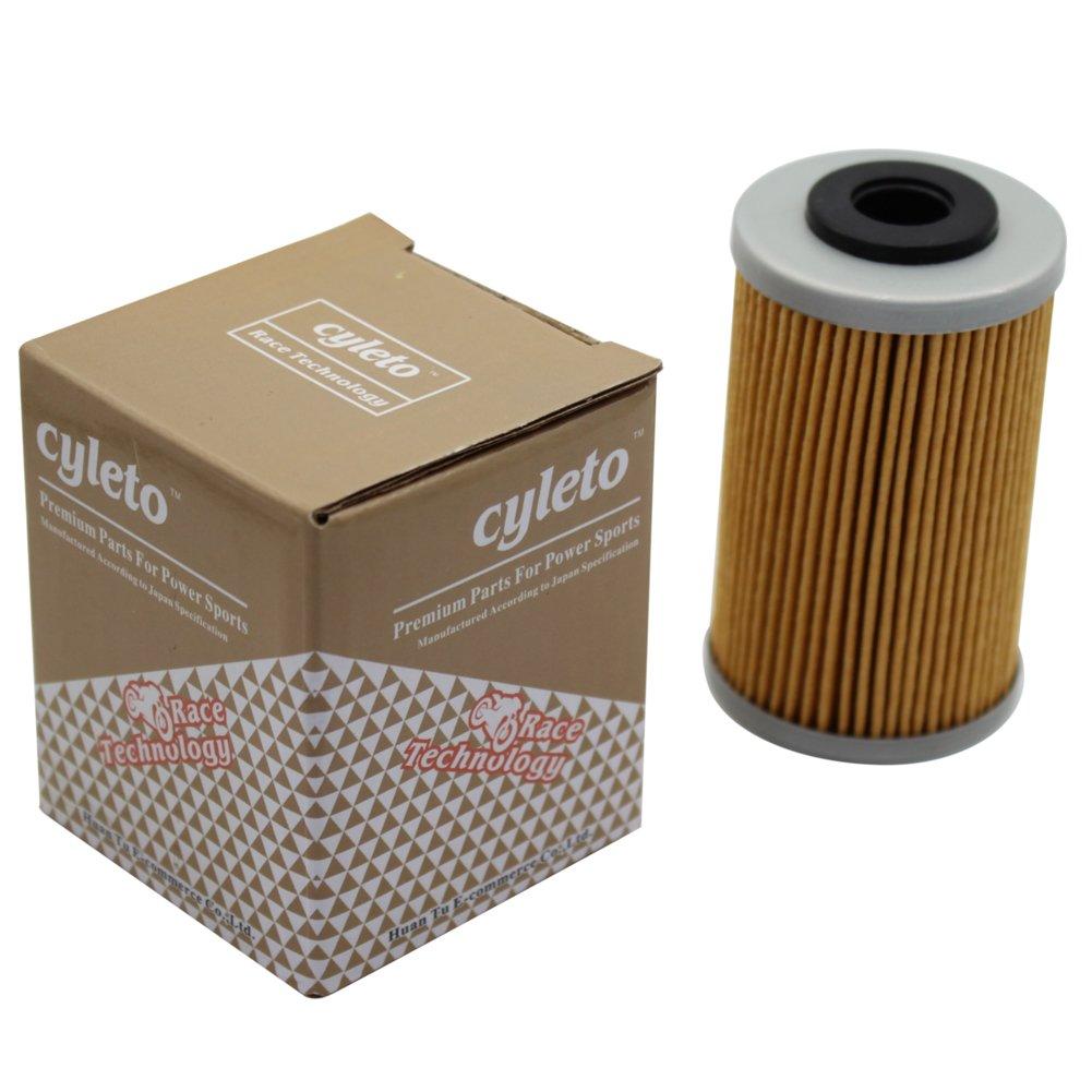 Cyleto Filtro de aceite Cyleto para 690 SMC 690 2008 2009 2010 2011 2012//690 SUPERMOTO 690 2008