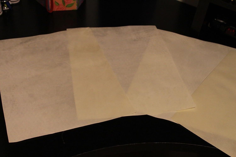 Vellum Sheep//Goat Skin Paper Size - 8 X 12 inches Ectoria Natural Skin Parchment Paper