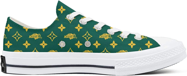 BOINN Womens Low Top Lace Up Flat Bottom Canvas Shoe Vulcanized Sole Design Clipper Walking Sneakers