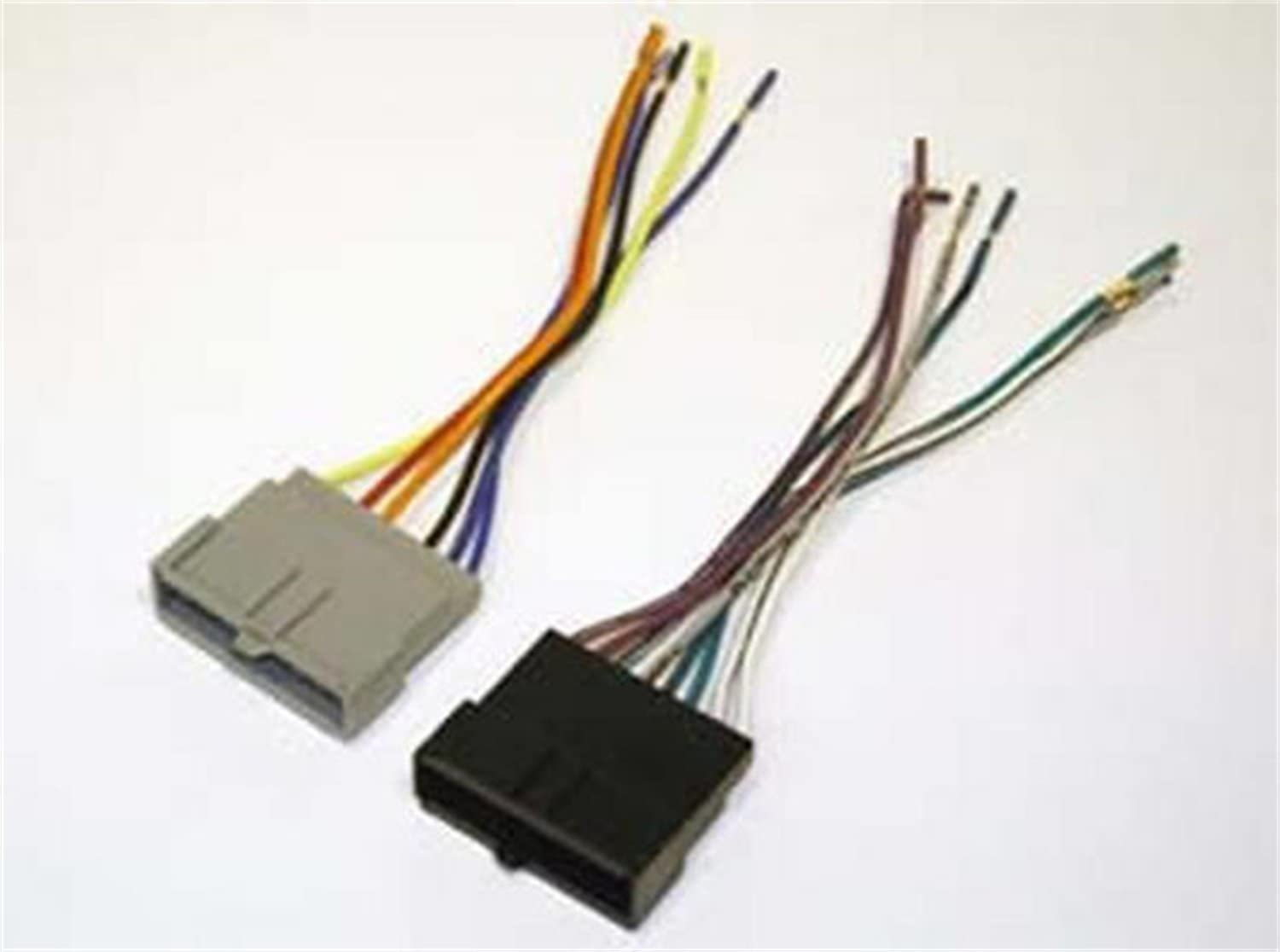 SCOSCHE FD02B Wiring Harness Kit to Connect an Aftermarket Stereo Receiver for Select 1986-2004 Ford Vehicles: Car Electronics