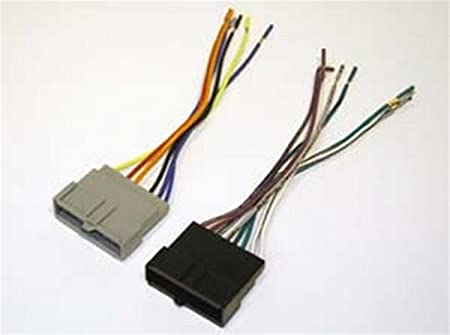 [ZTBE_9966]  Amazon.com: SCOSCHE FD02B Wiring Harness Kit to Connect an Aftermarket  Stereo Receiver for Select 1986-2004 Ford Vehicles: Car Electronics | 1986 Ford Mustang Stereo Wiring |  | Amazon.com