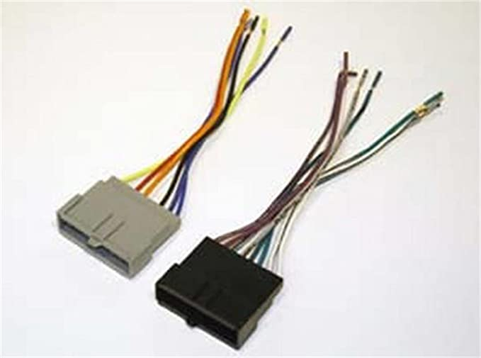 Amazon.com: SCOSCHE FD02B Wiring Harness Kit to Connect an Aftermarket  Stereo Receiver for Select 1986-2004 Ford Vehicles: Car ElectronicsAmazon.com