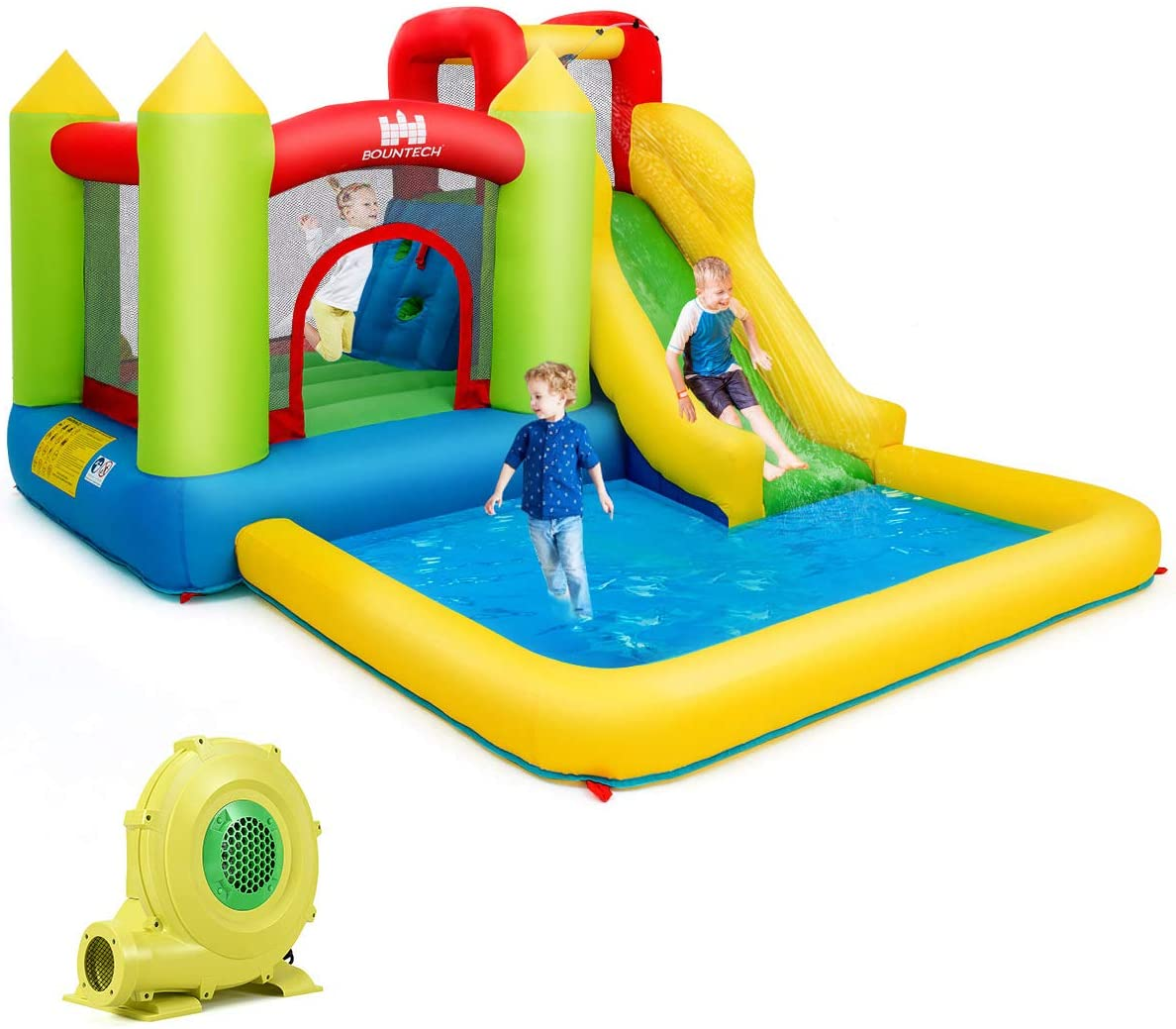 Costzon Inflatable Bounce House, Kids Water
