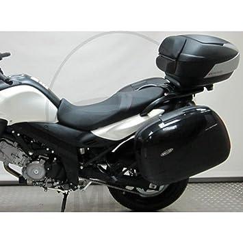 SHAD S0VS62SF Soporte Maleta Lateral para Suzuki Vstrom 650 Negro: Amazon.es: Coche y moto