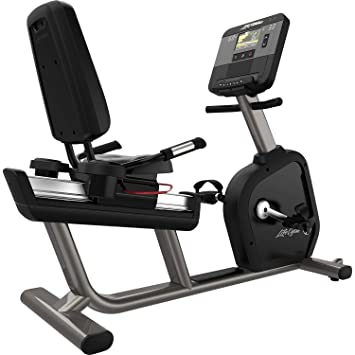 Life Fitness Integrity DX Recumbent Cycle WIFI - Artic