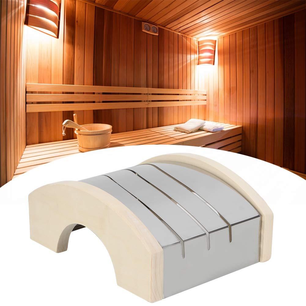 Sauna Licht Lampenschirm Zubeh/ör Pbzydu Dampfraum Lampenschirm Abdeckung
