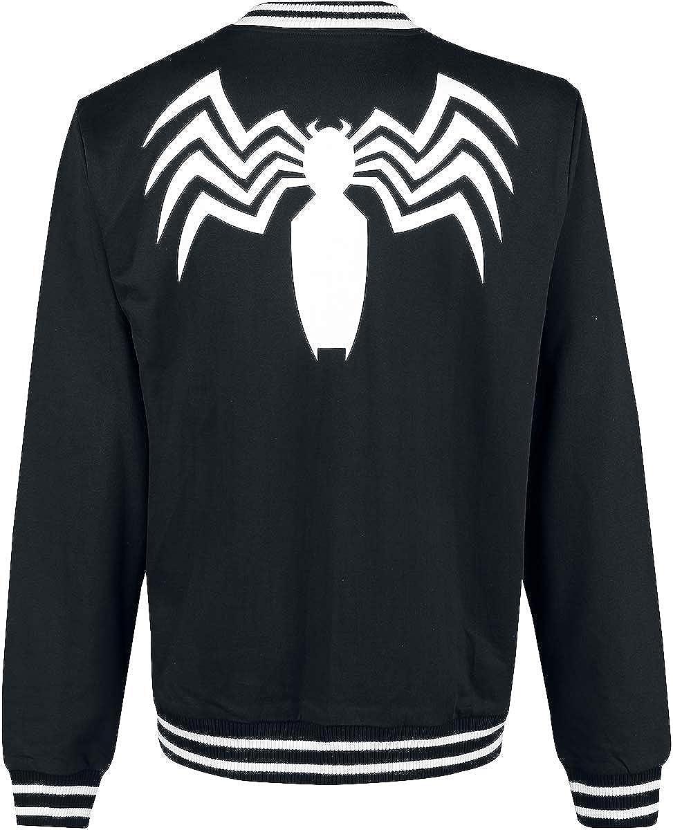 Venom (Marvel) Logo Collegejacke Collegejacke Collegejacke schwarz weiß B07JX815CV Jacken Hochwertige Produkte 69a73e