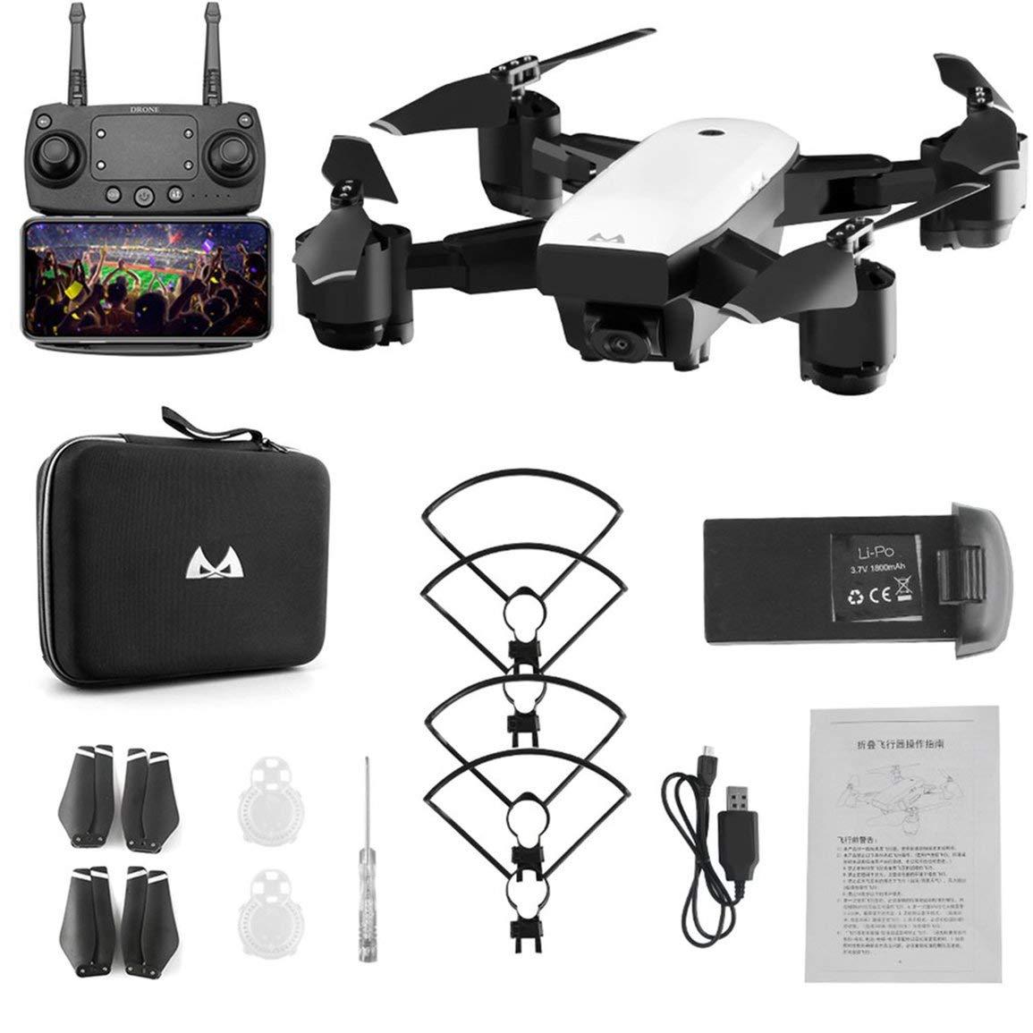 Fantasyworld SMRC S20 6 Achsen Gyro FPV Drone Tragbare RC mit Quadrocopter mit RC 720P Kamera-Folding RC Hubschrauber Tragbare RC Modell 4c0415