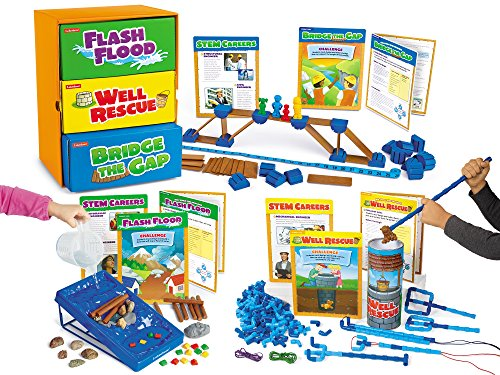 engineering toys for 10 year olds Lakeshore Real-World STEM Challenge Kit - Gr. 2-3