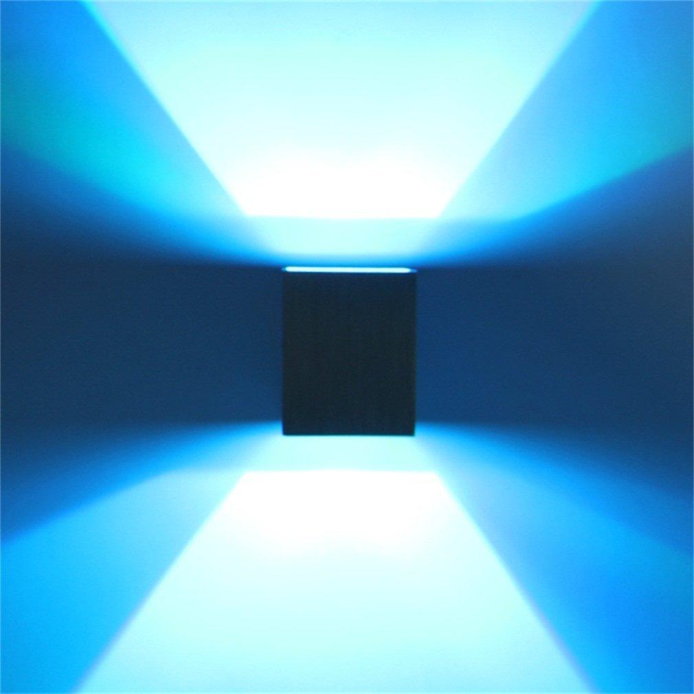 iUcar 3W Aluminum LED Light Wall Lamp For Bedroom Bathroom Living Room