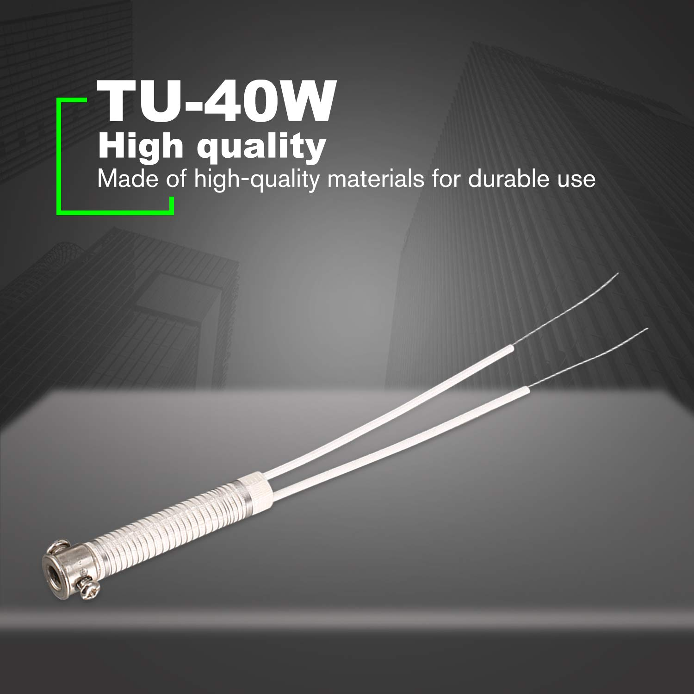 5pcs 40W Soldering Iron Heating Element Heater Core External Welding Tool silver