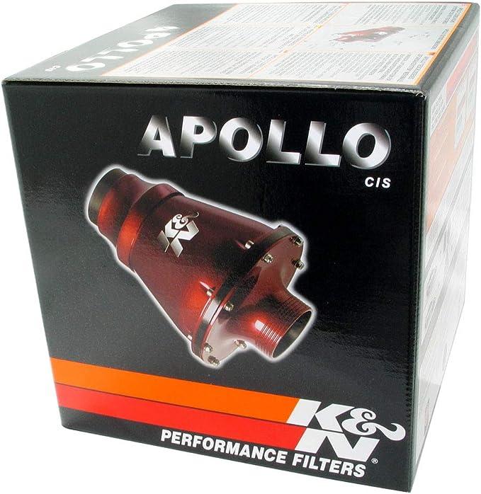 Rc 5052ar K N Universal Lufteinlasssystem Apollo Cis Universal 70 Mm Od Flg Pp Rot Universal Luftfilter Auto