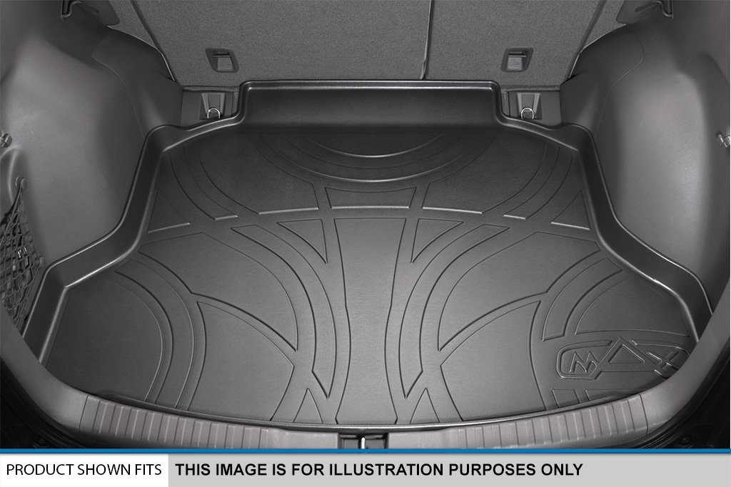 MAXLINER MAXTRAY All Weather Cargo Liner Floor Mat Behind 2nd Row Black for 2016-2018 Mazxda CX-9