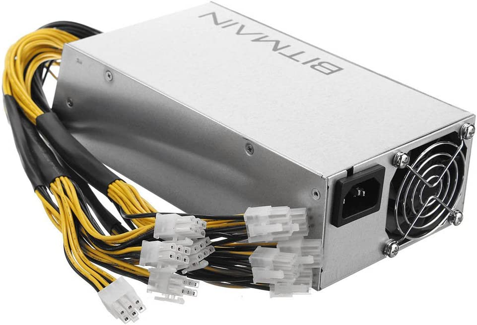 Tanli Bitcoin Miners Antminer S9 L3 D3 Power Supply APW3++ PSU En stock envio rapido 1200W@110v 1600W@220v