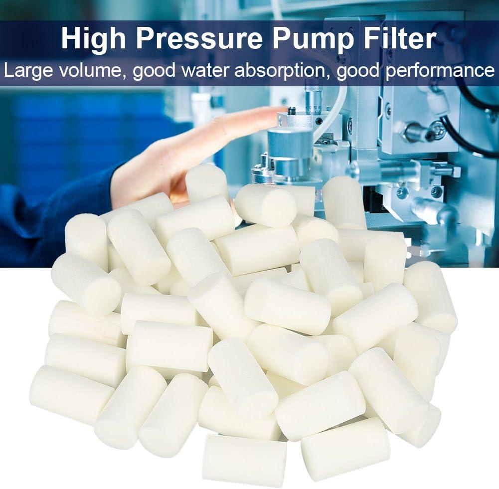 50Pcs Pump Prefilter Pump Sponge for Electric High Pressure Yong Heng 30MPa Air Compressor Part Walfront