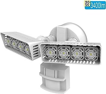 Sansi LED Security Motion Sensor Daylight Outdoor Lights