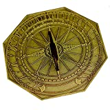 George Washington Sundial with Aged Bronze Finish