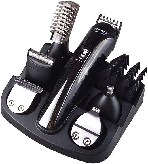 AHUO 11 En 1 Recortadora De Cabello Profesional Afeitadora Eléctrica para Afeitadora De Barba Set De Herramientas De Peinado, Cortadora De Cabello para Hombres ...