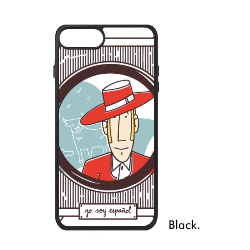 Amazon.com: Red Garment Spanish Illustration For iPhone 7/7 ...