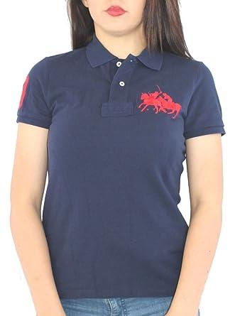 Polo Ralph Lauren - Camiseta - para Mujer Azul Azul Marino Large ...