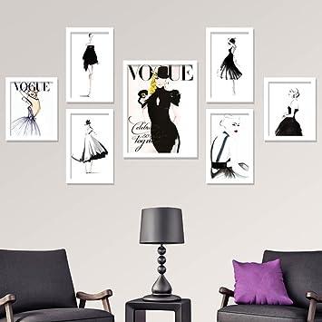 ZPQ Foto Wand, Mode Modell Kleidung Shop Foto Wand, Kombination Von Schönen