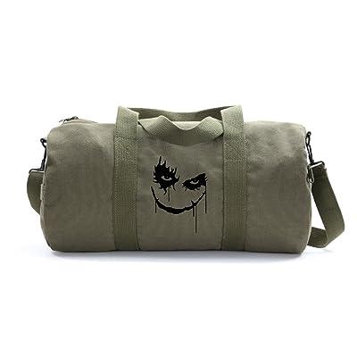The Joker Face Army Sport Heavyweight Canvas Duffel Bag