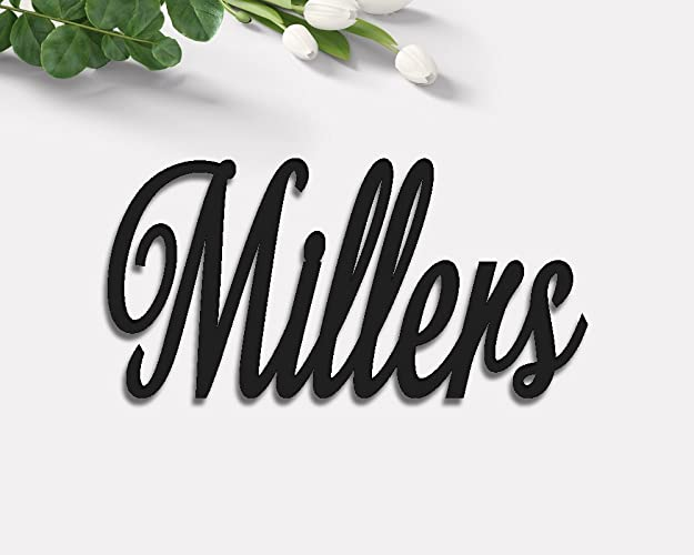 Amazon.com: Personalized Name Sign. Wall Decor. Custom Wooden Last ...