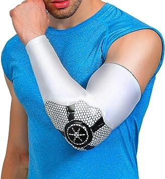 Protector de Brazo de Baloncesto Anti-colisión Manga de Soporte de ...
