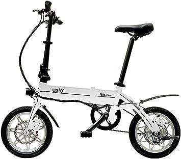 eelo 1885 Disc Bicicleta eléctrica Plegable, portátil y fácil de Arreglar