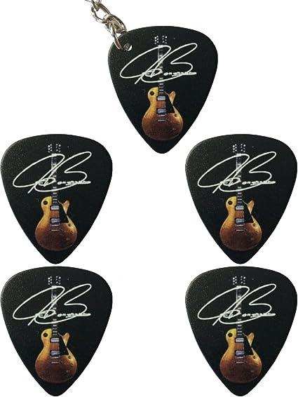 Púas de guitarra y llavero: Joe Bonamassa: Amazon.es: Instrumentos ...