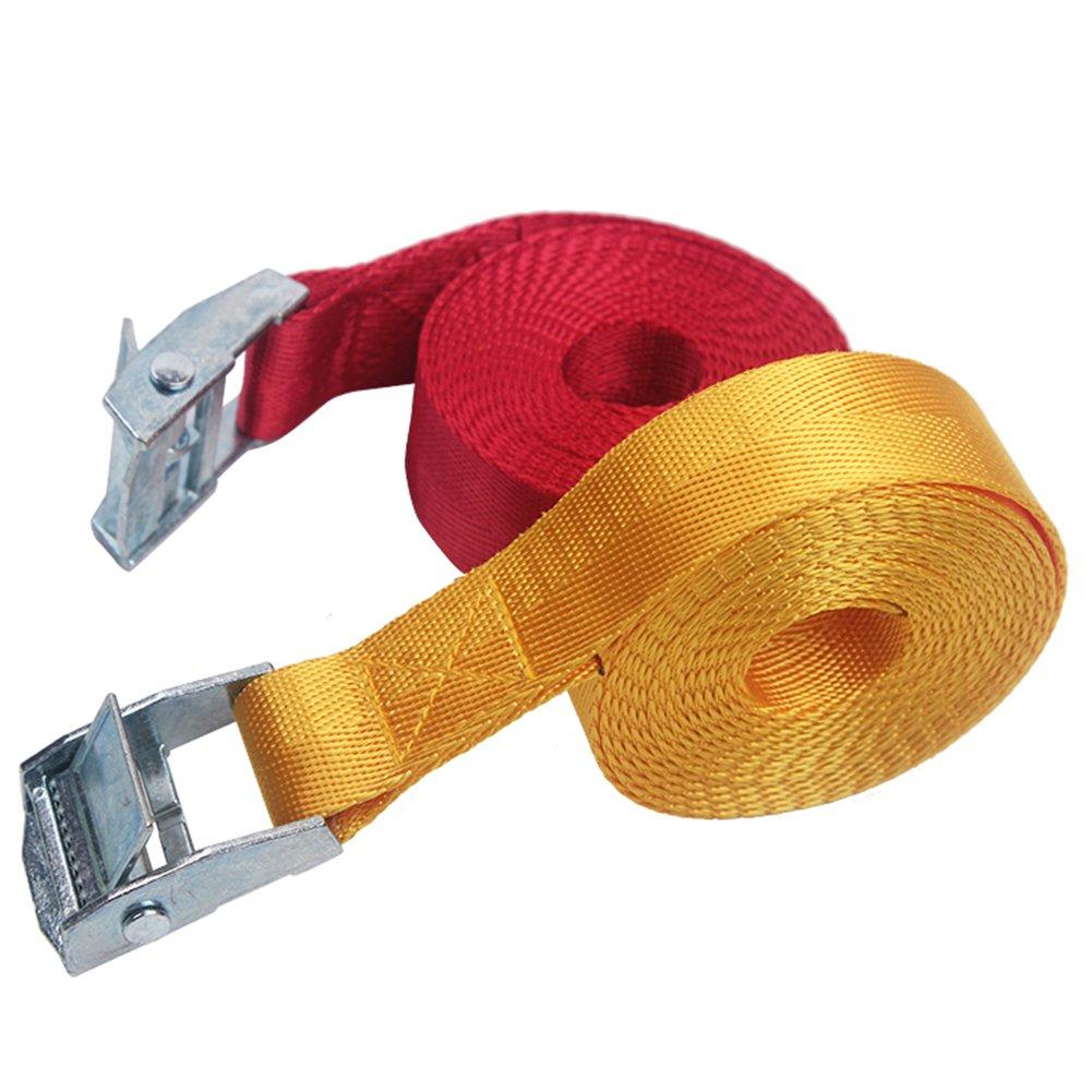 Nylon Luggage Belt Tie Down Straps Lash Bag Metal Buckle 1//2//3//4M 1M