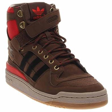 100% authentic e0f66 51e90 adidas Forum HI OG Mens Shoes (12) Brown