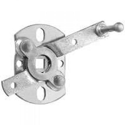 Stanley National S730 940 Garage Door Swivel Lock Handle, Zinc Plated