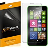 [6-Pack] Supershieldz- Anti-Bubble High Definition Clear Screen Protector For Nokia Lumia 635 / Lumia 630 + Lifetime Replacements Warranty [6-PACK] - Retail Packaging