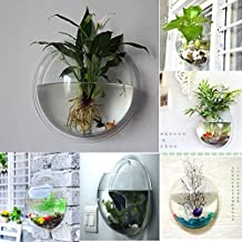 FreshGadgetz Indoor/ Outdoor Wall Mounted Plastic Plant Pot Rare Modern Planter