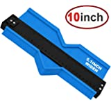 Contour Gauge 10inch Shape Duplicator Profile Copy Tool Shape Measuring for Corners and Contoured Blue