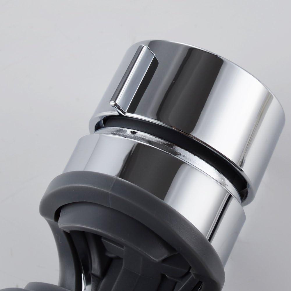 Weehey Einstellbare Handbrausehalterung f/ür Gleitschiene 18-25 mm Durchmesser Chrom poliert Ersatz-Handbrausehalter