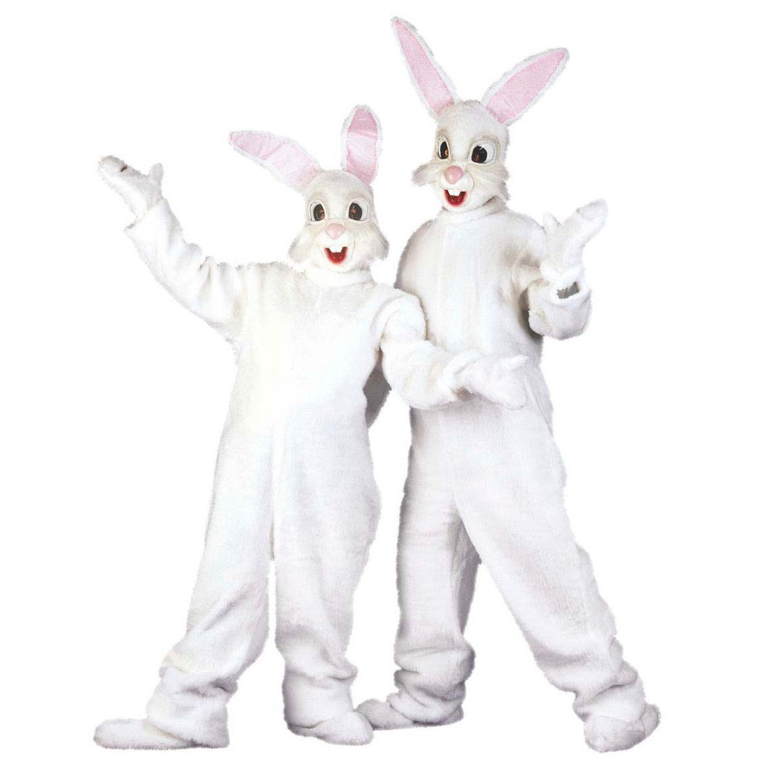 Disfraz de conejo completo peluche traje mono felpa pascua traje animal