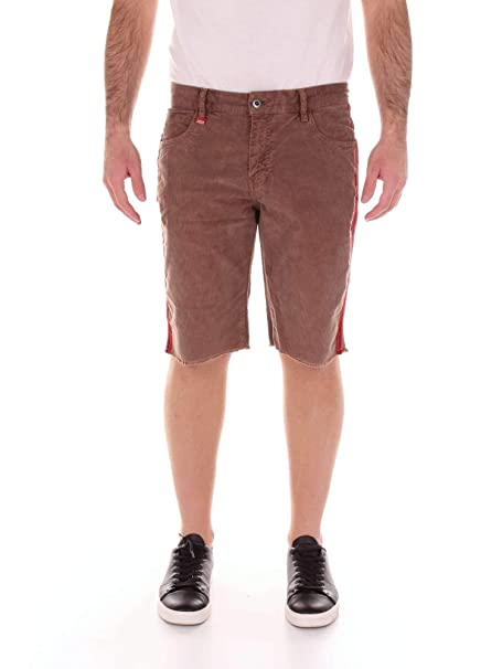 0b79dde9ba Franklin and Marshall STMF473ANS19 Bermuda Shorts Men Brown 33: Amazon.co.uk:  Clothing