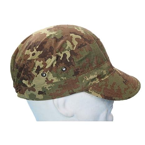 Fratelliditalia Cappello esercito italiano berretto divisa soldato militare  mimetico vegetato 5add0f3c4160