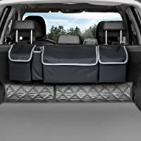 Backseat Trunk Organizer, Seat Back Storage to Keep Car Trunk Neat, Car Trunk Storage Organizer for SUV Gives You a Big…