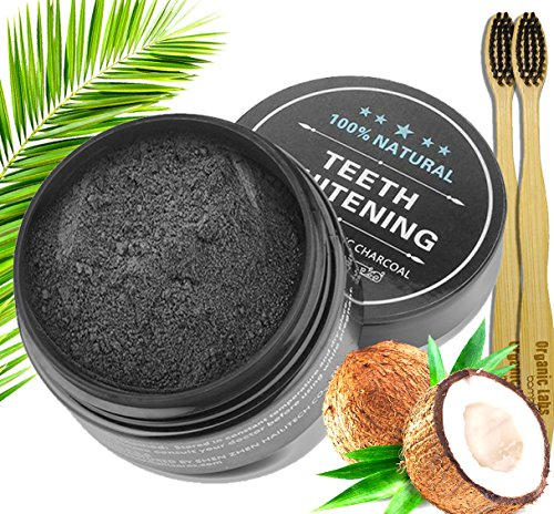 Charcoal Teeth Whitening Powder Natural Organic Activated Ch