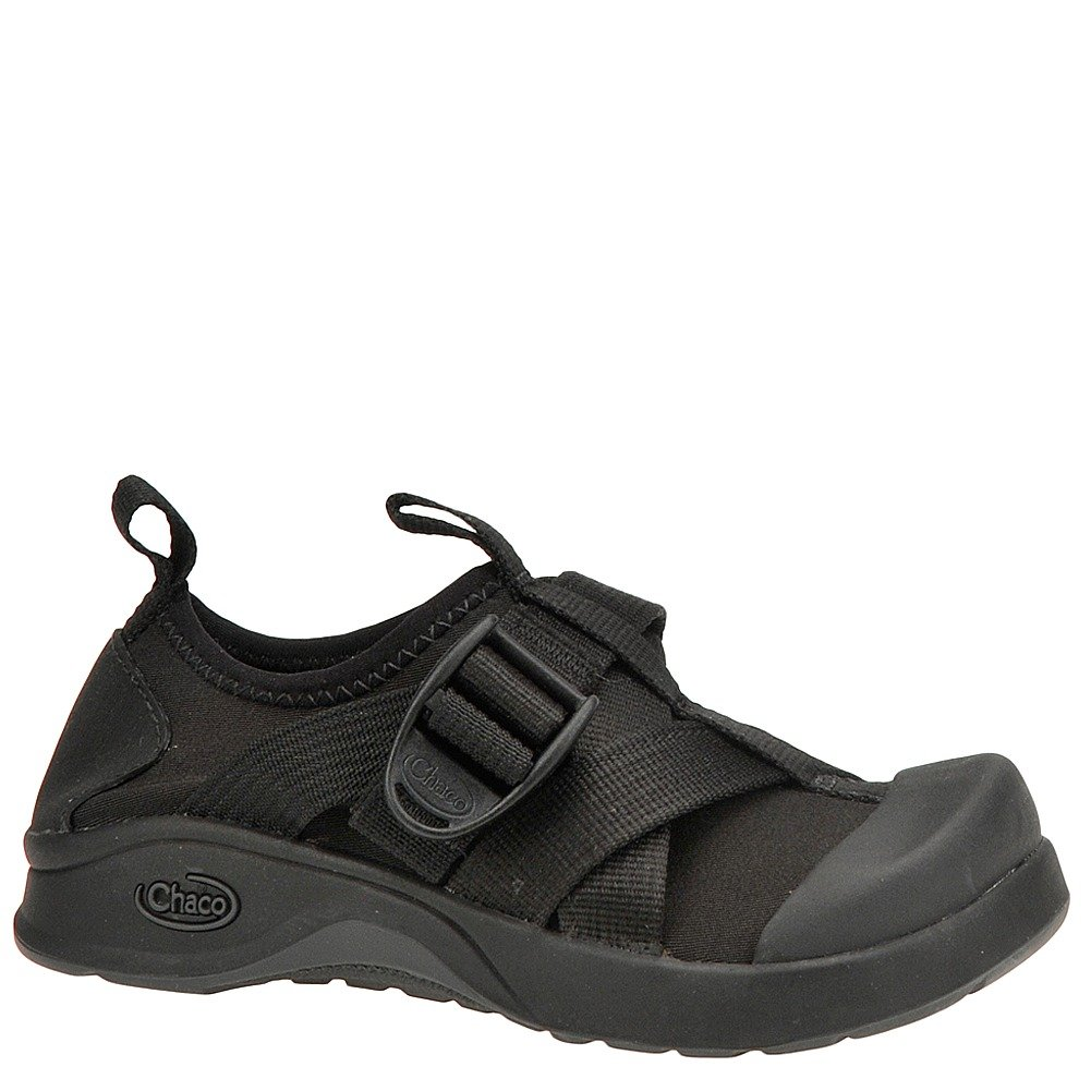 Chaco Kid's Vitim Ecotread Boots,Black,4 M Big Kid