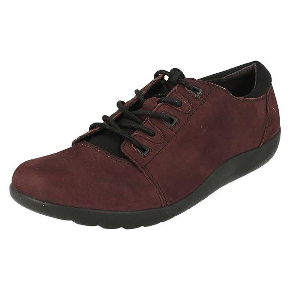 CLARKS Clarks Womens Shoe Medora Bella Aubergine 4.0 D vaC7Fg