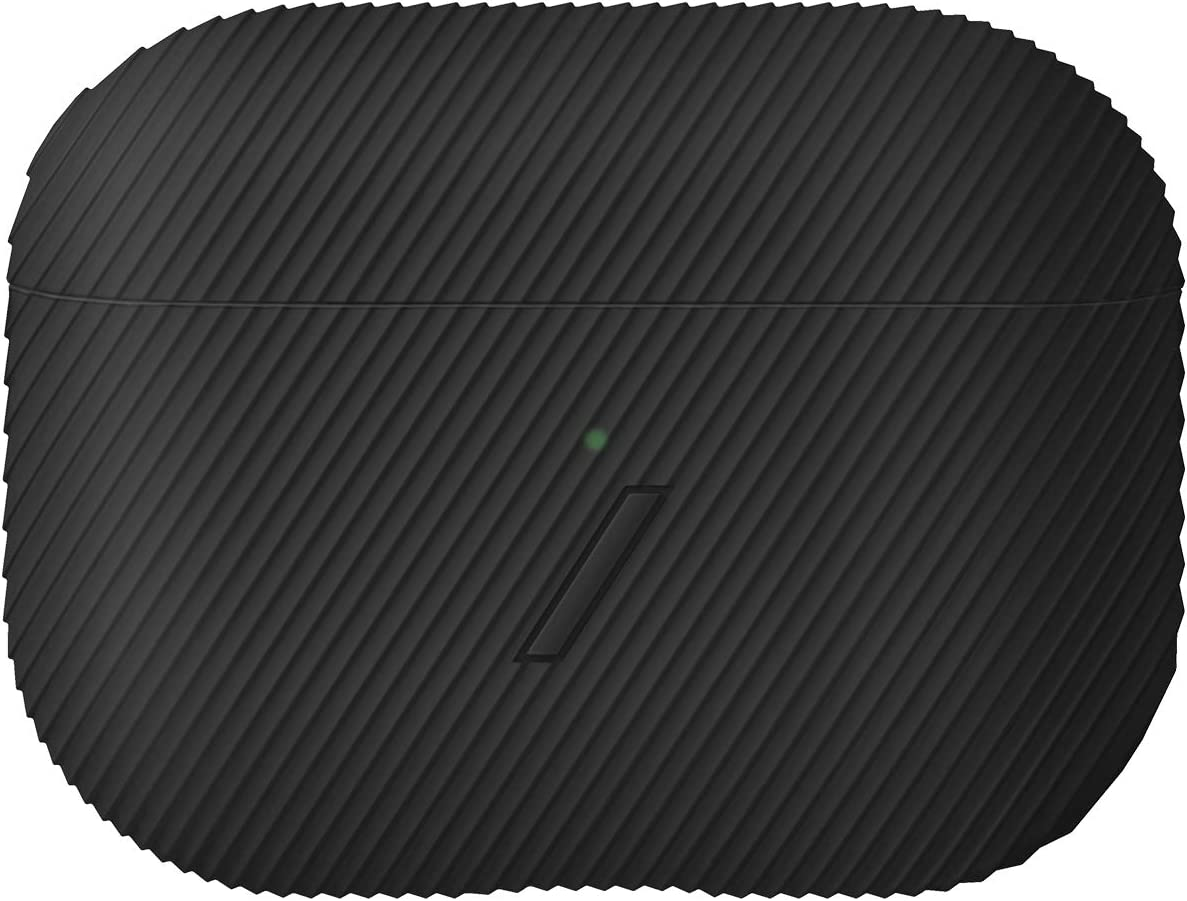 Native Union Curve Case for AirPods Pro – Sleek Textured Silicone Case Lightweight Protection Tactile Grip Wireless Charging Compatible with AirPods Pro (Black)