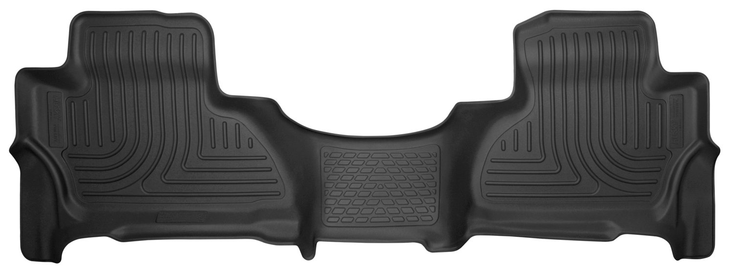 Husky Liners 53170 52481 Black Floor liners-2nd Seat fits 15-18 Escalade ESV