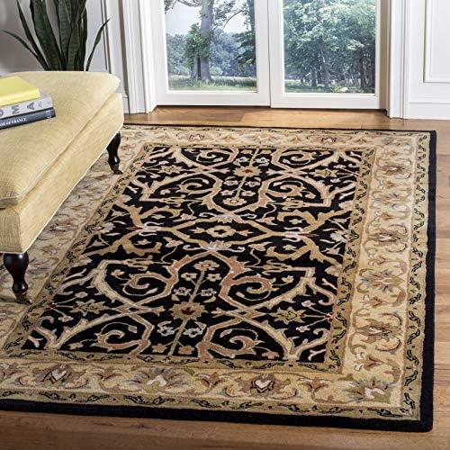 Safavieh Heritage Collection HG644A Handmade Traditional Oriental Premium Wool Area Rug