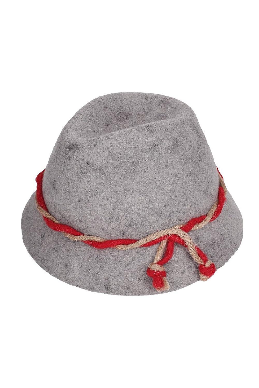 Unisex - Erwachsene Faustmann Hüte Trachtenhut für kleine und große Trachtler grau, grau,