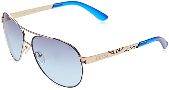 Guess GF0282_32W Gafas de sol, Rosa/BLU, 61 para Mujer ...